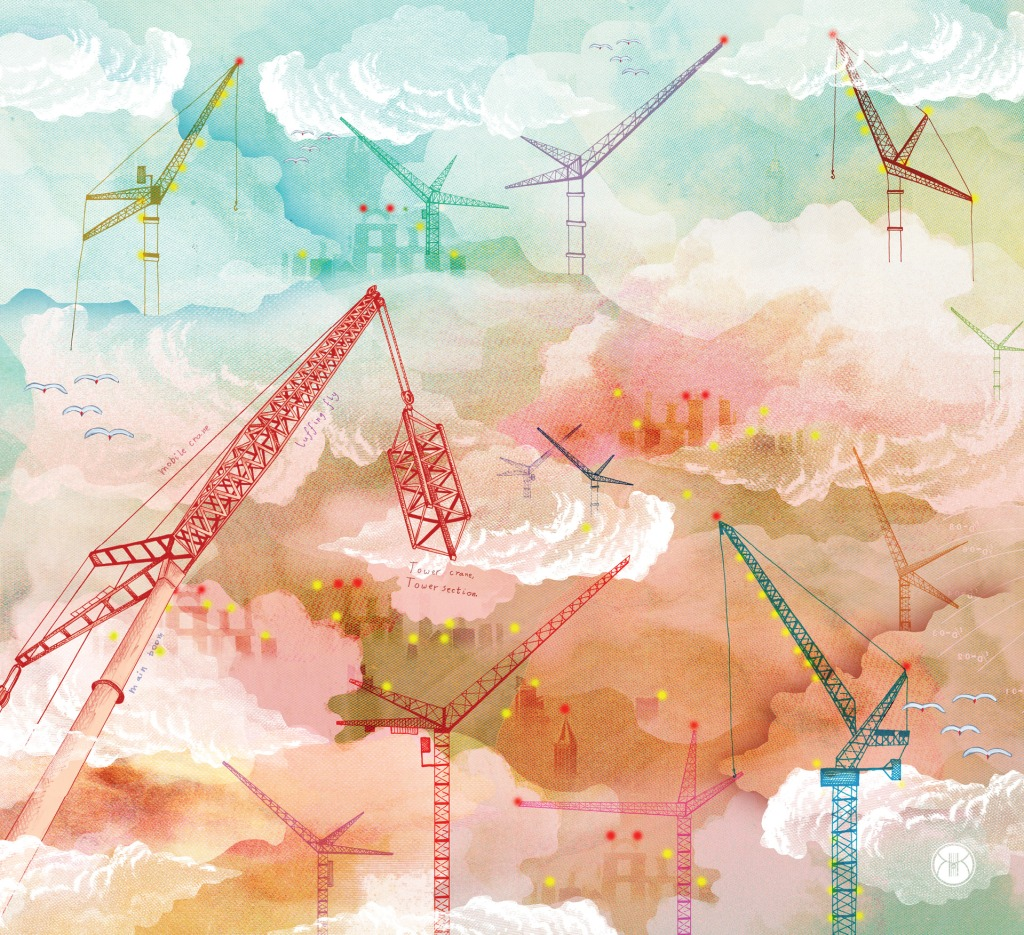 'A Construction of Cranes' image #1